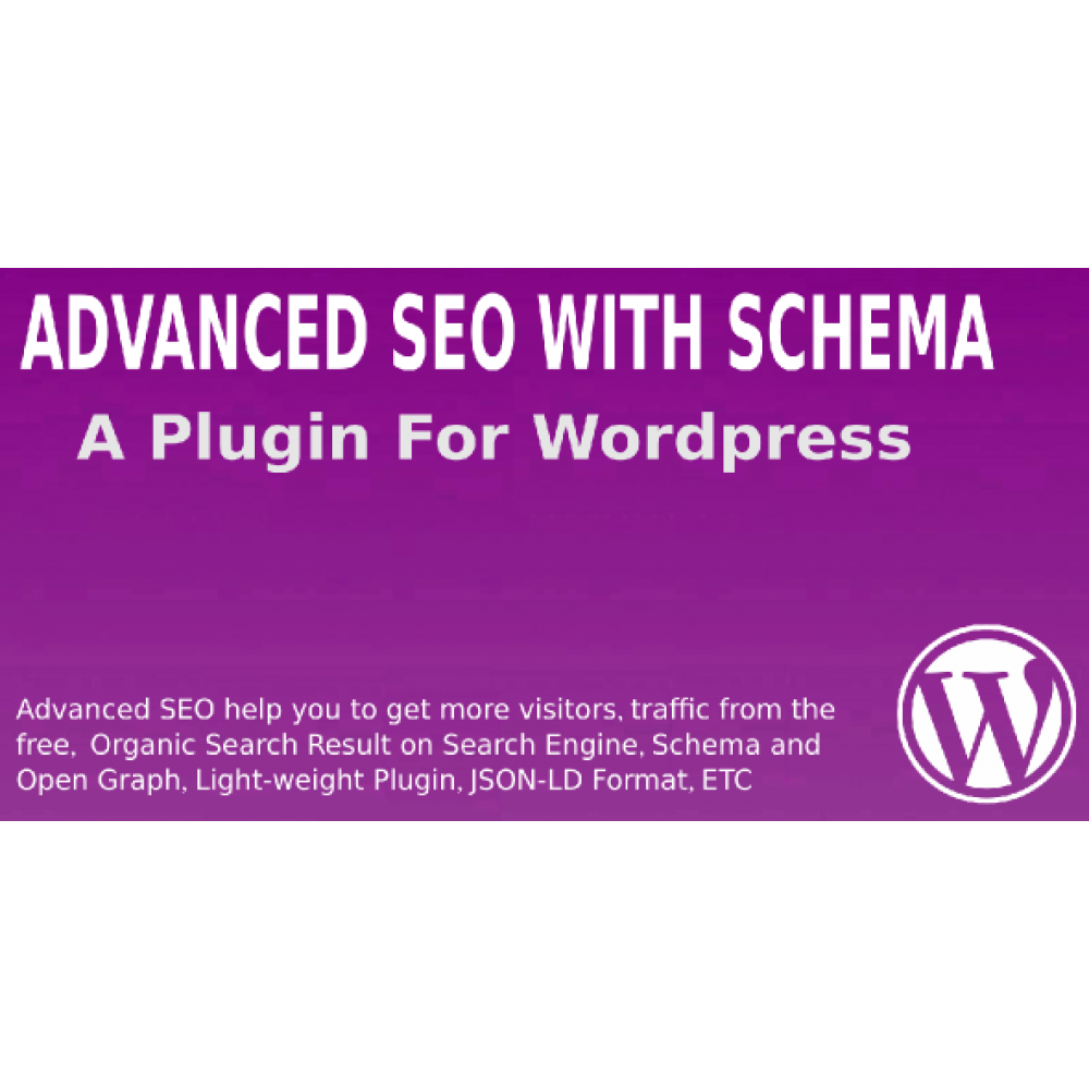 Advanced SEO With Schema Wordpress Plugin