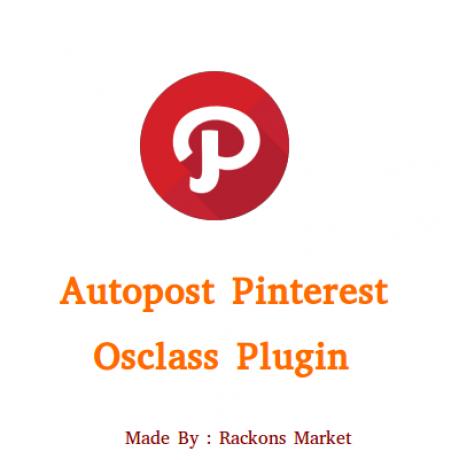 Auto Post Pinterest Plugin For Osclass