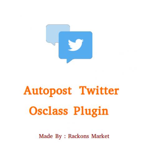 Autopost Twitter Plugin for Osclass