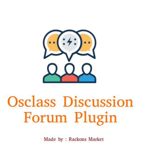 Osclass Multilanguage Discussion Forum Plugin
