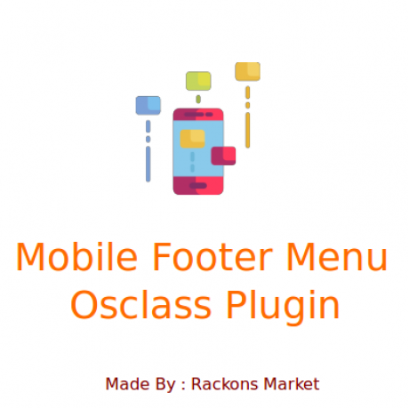 Mobile Footer Menu Plugin for Osclass