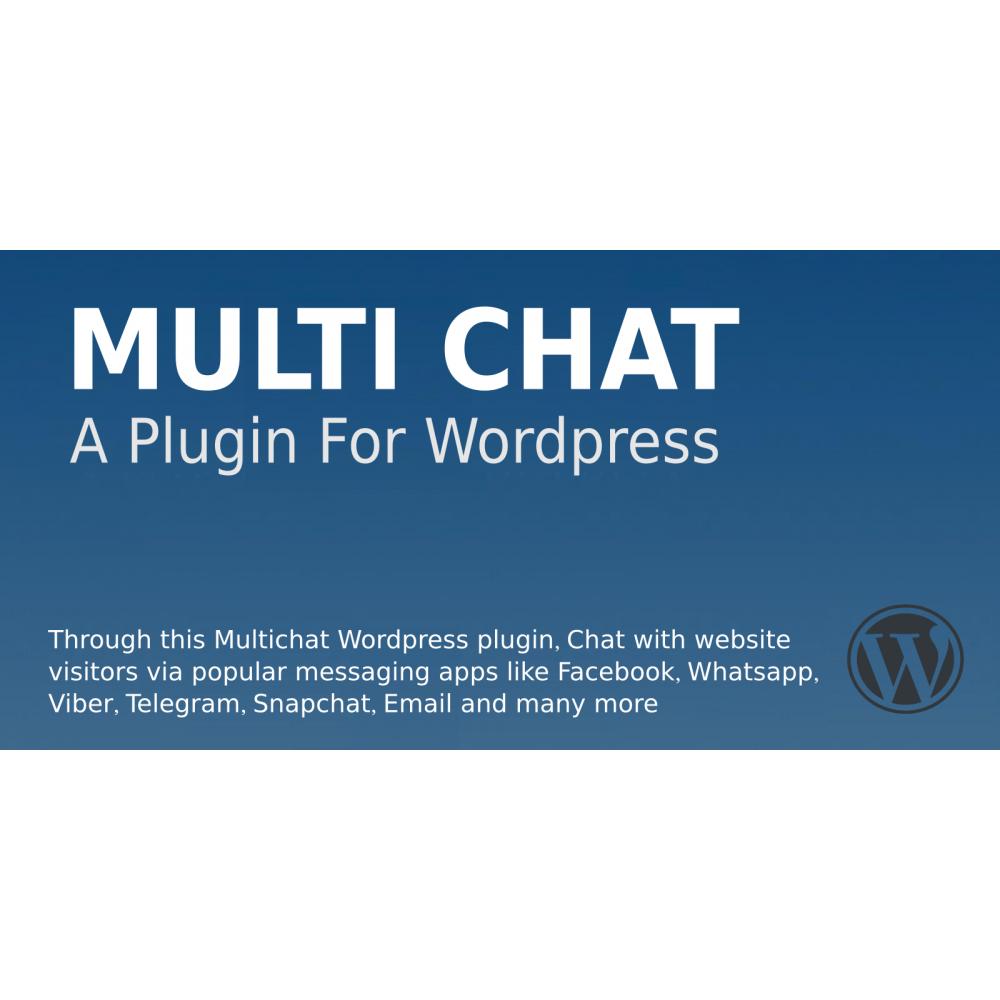 Multi Chat Wordpress Plugin