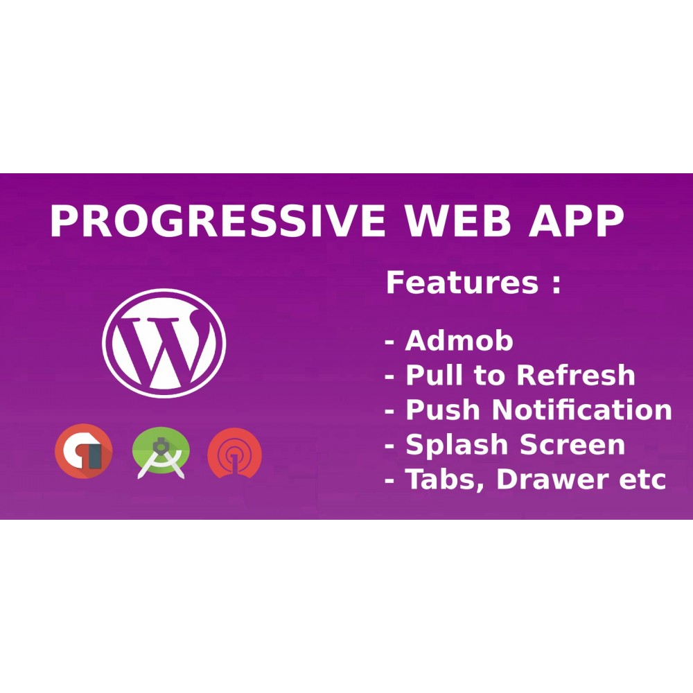 Progressive Web App Android Source Code - WordPress
