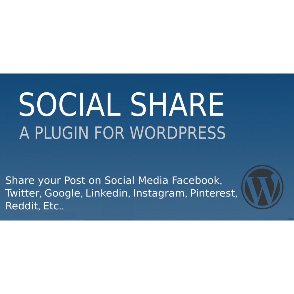 Social Share Plugin For Wordpress
